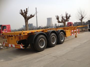 2/3 Trục Skeleton container Trailer Bán Xe tải, vận chuyển container